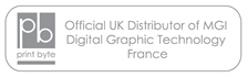 Printbyte Ltd – Official UK Distributor of MGI Digital Graphic Technology – France